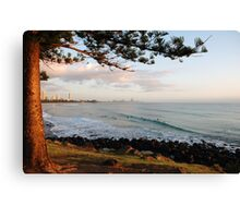 Early Waves Canvas Print