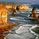 Apostles. Great Ocean Road Australia by Cindy McDonald