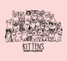 KITTENS EVERYWHERE Kids Clothes