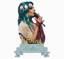 Halsey Nothing Matters Flower Crown by Glampagne