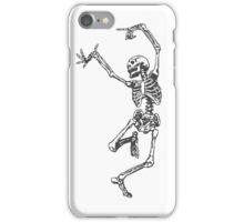 Dancer skeleton iPhone Case/Skin