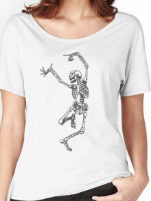 Dancer skeleton Women's Relaxed Fit T-Shirt