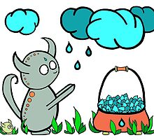 Raindrop Collector by WillowHillArt