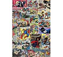 comic books  Photographic Print