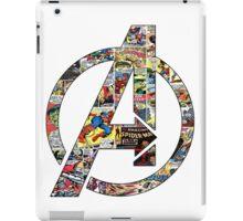 Avengers symbol iPad Case/Skin