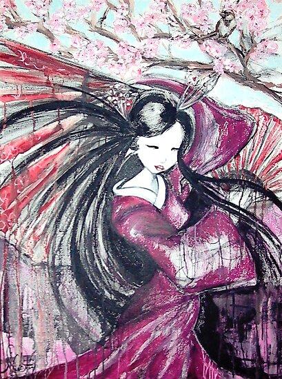 Fan Dance by whittyart