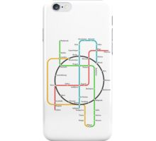 Europe Underground Map iPhone Case/Skin