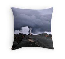 Wild Sea Throw Pillow