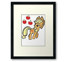 Apple Jack Framed Print