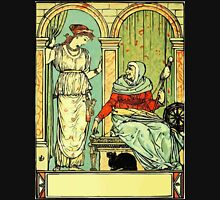 The Sleeping Beauty Picture Book Plate 001 - Long Ago In Ancient Times Unisex T-Shirt