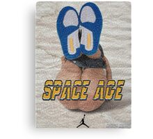 SPACE AGE AIR JORDAN 3 ' DO THE RIGHT THING '  Canvas Print