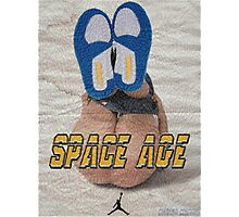 SPACE AGE AIR JORDAN 3 ' DO THE RIGHT THING '  Photographic Print