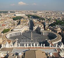 St Peters Basilica, Rome by lisayang