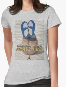 SPACE AGE AIR JORDAN 3 ' DO THE RIGHT THING '  Womens Fitted T-Shirt