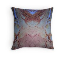 Sectioned En and Di Throw Pillow