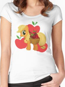 Apple Jack Women's Fitted Scoop T-Shirt