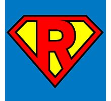 Super R Photographic Print