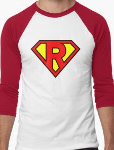 Super R Men's Baseball ¾ T-Shirt