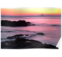 Dawn Light: St Michael's Mount: Penzance Cornwall UK Poster