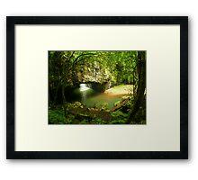 Natural Arch... Framed Print