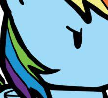 rainbow dash Sticker