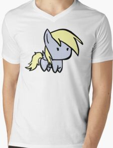 derpy Mens V-Neck T-Shirt