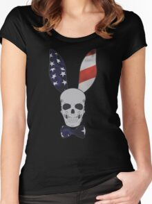 Skull Bunny Women's Fitted Scoop T-Shirt