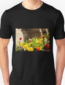 Spring Flowers Cambridge Unisex T-Shirt