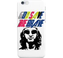 God Save The Brave iPhone Case/Skin