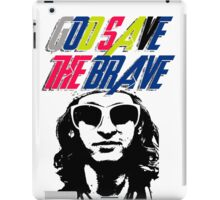 God Save The Brave iPad Case/Skin