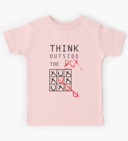 THINK OUTSIDE THE BOX Kids Tee