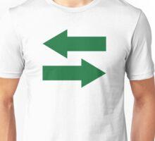 Green arrows Unisex T-Shirt