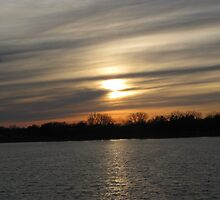 Last Sun At Grays Lake by Linda Miller Gesualdo