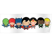 The Cute Justice League Poster