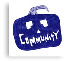 Community Halloween Canvas Print