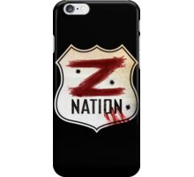 z nation iPhone Case/Skin