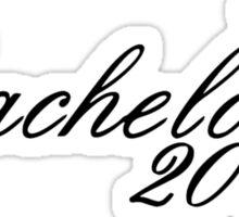 Bachelor 2011 Sticker