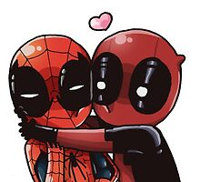 Spideypool by tashthebauss