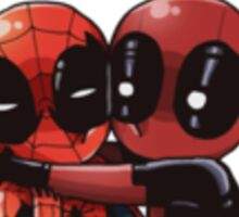 Spideypool Sticker