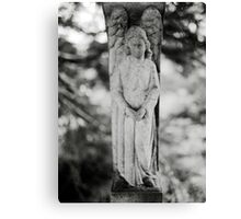 Temple Hill Angel Canvas Print