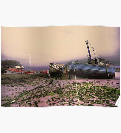walney boat Poster