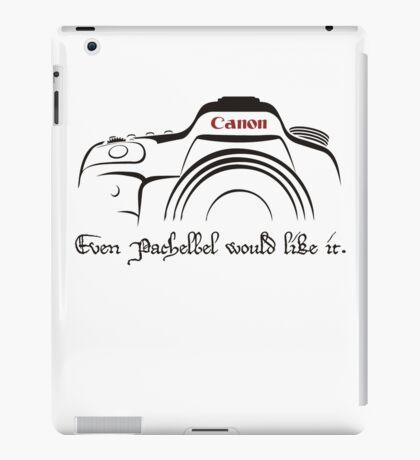 Canon in D - even Pachelbel would like it. iPad Case/Skin