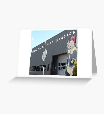 Fab Firestation Greeting Card
