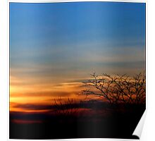 Sunset in March Poster
