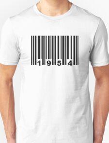 Barcode 1954 Unisex T-Shirt