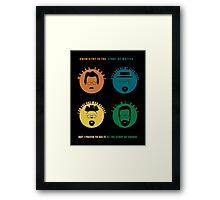 Breaking Bad - The Change of Walt Framed Print
