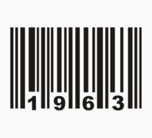 Barcode 1963 by Designzz