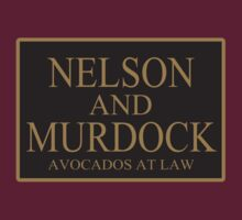 NELSON AND MURDOCK AVOCADOS AT LAW by MikeChase27