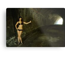Stacey - hitchhiker Metal Print