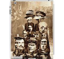 Family of Modern Day Futurists. iPad Case/Skin